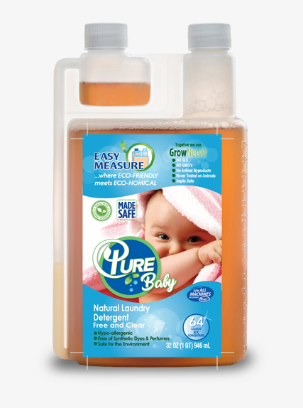 baby natural laundry detergent